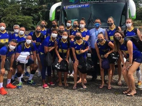Brasil duela com a Colômbia em decisão do Sul-Americano feminino de vôlei