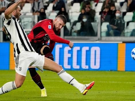 Juventus volvió a dejar puntos ante AC Milan