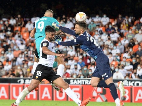 Real Madrid encontró dos goles en el final para dar vuelta el partido ante Valencia
