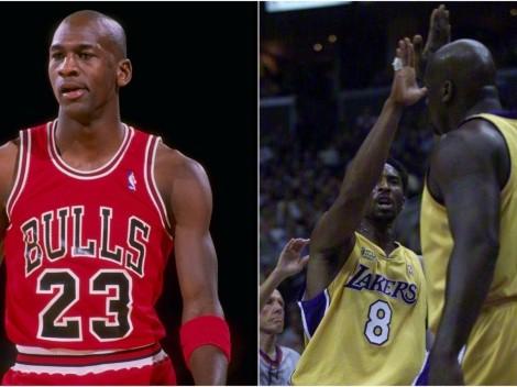 Los Lakers de Kobe y Shaq fueron mejores que los Bulls de Jordan según Horace Grant