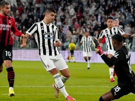 Cuatro toques y gran velocidad: el increíble gol de Morata para Juventus