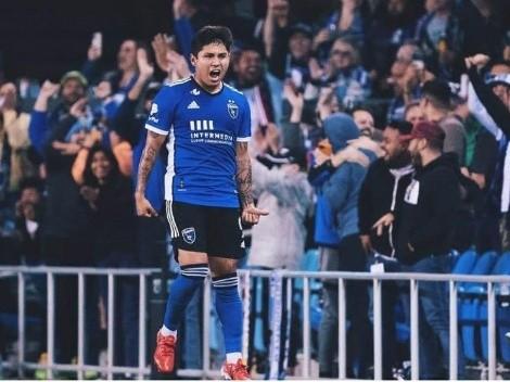 Chofis López mostró toda su alegría tras el doblete en la MLS
