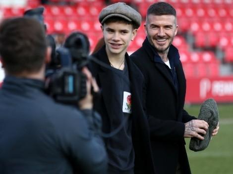Hijo de David Beckham hace su debut en filial del Inter Miami en Estados Unidos