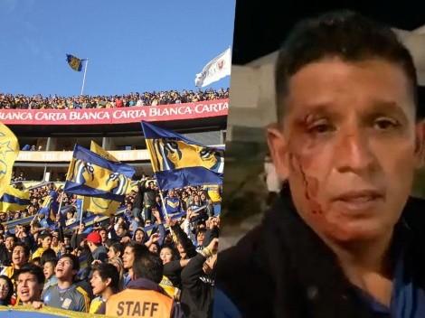 Reportero de TV Azteca fue agredido por la barra Libres y Lokos de Tigres