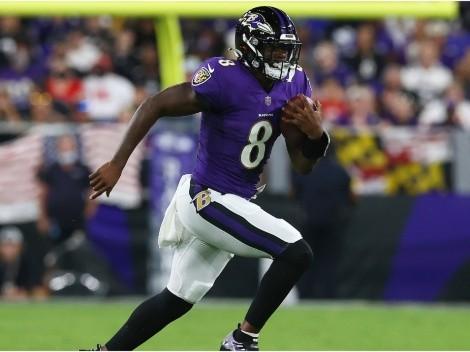 Lamar Jackson anotó el touchdown con más estilo de la Semana 2