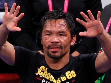 Manny Pacquiao hizo oficial su retiro del boxeo profesional