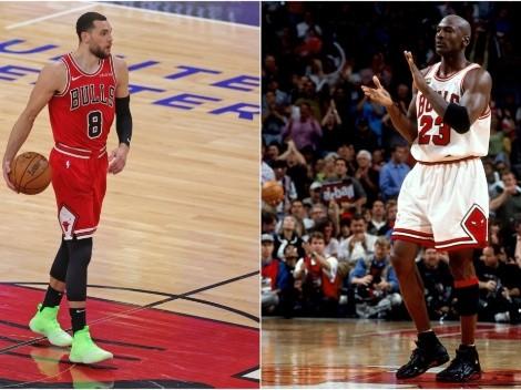 """Zach LaVine quiere seguir """"la ruta de Jordan"""" en Chicago Bulls"""