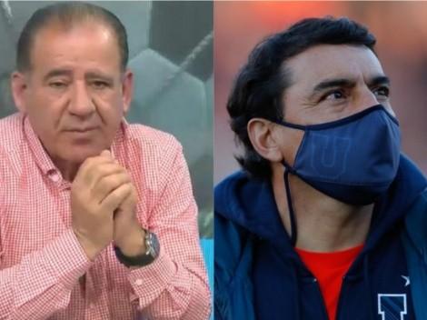 César Vaccia defendió a Esteban Valencia y le tiró un palo a Azul Azul