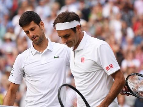 Los elogios de Federer hacia Djokovic tras haber quedado cerca del Grand Slam