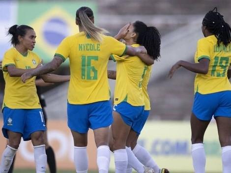 Brasil vence Argentina em segundo duelo preparatório