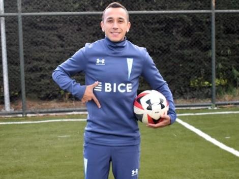 Fabián Orellana prepara su debut con Universidad Católica