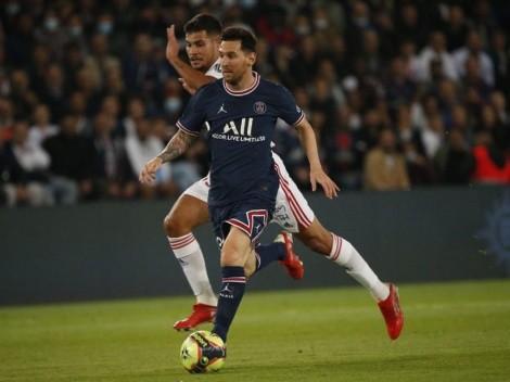 """En París son impiadosos con Messi: lo acusan de """"intermitente"""" y de que """"se está marchitando"""""""
