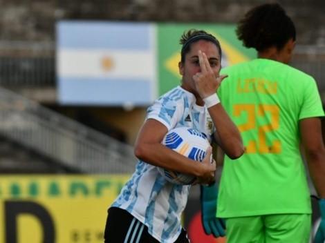 Otra derrota de la Selección argentina ante Brasil