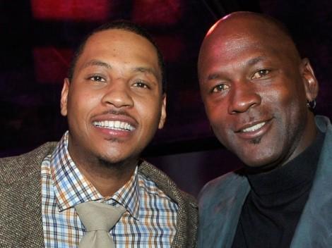 Carmelo Anthony contó cómo Michael Jordan lo ayudó en sus comienzos en la NBA