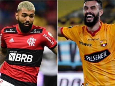 Flamengo x Barcelona-EQU: data, hora e canal dessa partida da Copa Libertadores