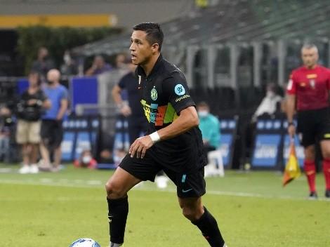 Alexis nuevamente es considerado, esta vez para duelo ante Fiorentina