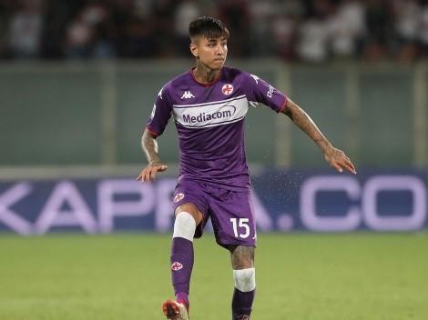 Pulgar gana elogios de su entrenador en Fiorentina