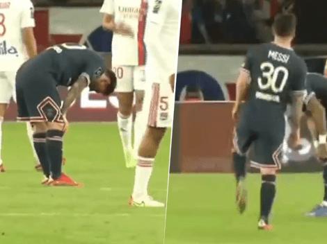 VIDEO: Los gestos de dolor de Messi antes de ser reemplazado