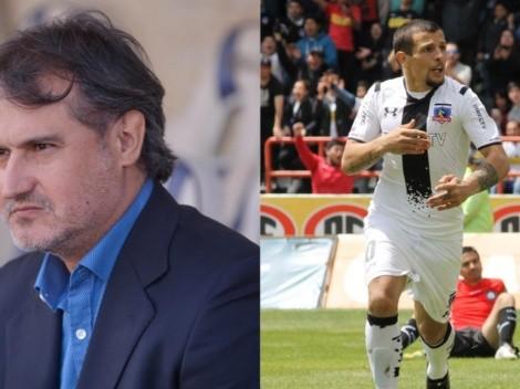 """Vergara: """"Vecchio le tiene que devolver la plata del sueldo a Colo Colo"""""""
