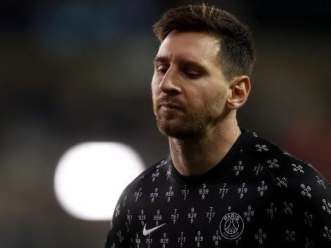 Descartado: el parte médico del PSG sobre la rodilla de Lionel Messi