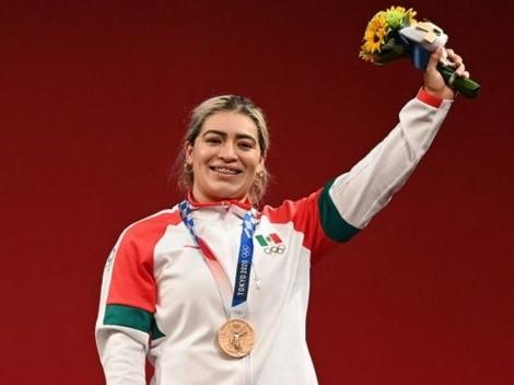 La mexicana Aremi Fuentes, medallista olímpica, denuncia que fue estafada por el gobierno