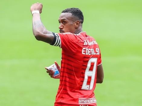Edenilson altera planos após convocação e avisa direção do Inter