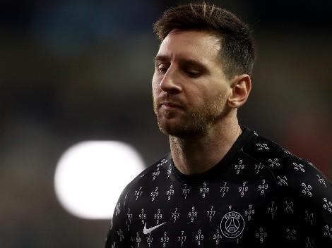 PSG anuncia que Messi sofreu lesão no joelho e vai desfalcar equipe