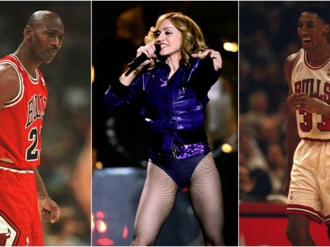 """Madonna snubbed Michael Jordan for the """"bigger"""" Scottie Pippen and that drove MJ nuts"""