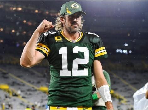 Aaron Rodgers responde a trolls tras victoria de Packers