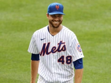 Jacob deGrom realizó sesión de bullpen y está muy cerca de regresar con los Mets