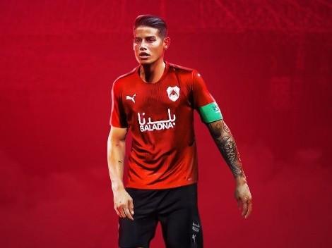 Para no perderle pista a James: ¿Cómo seguir el fútbol de Catar desde Colombia?