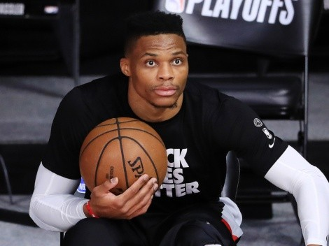 A lo Stephen Curry: Westbrook aparece lanzando triples e ilusiona a Lakers
