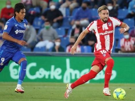 Herrera y el Atlético de Madrid le dieron vuelta al Getafe de Macías