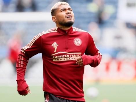 Josef Martínez se retiró del entrenamiento del Atlanta United con molestias físicas