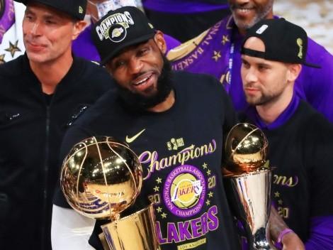 LeBron James repite el plan del título 2020 y se va a Las Vegas con Lakers