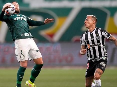 Eduardo Vargas juega 15 minutos en el empate del Mineiro ante Palmeiras