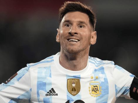 Messi subió dos fotos inéditas de la intimidad de la Selección Argentina