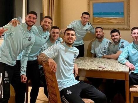 Los 7 jugadores de la Selección Argentina que comentaron la foto de Messi