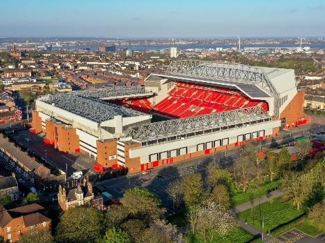 Liverpool confirma ampliação do Anfield