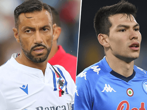 EN VIVO: Sampdoria vs. Napoli por la Serie A