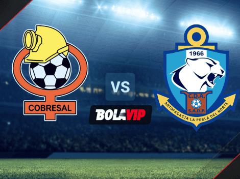 Qué canal transmite Cobresal vs. Antofagasta por el Campeonato AFP Plan Vital de Chile 2021