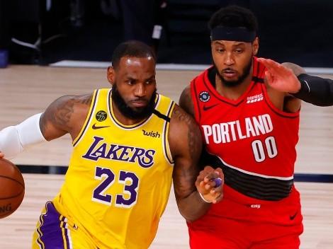 Carmelo Anthony dice que LeBron James lo 'obligó' a unirse a los Lakers