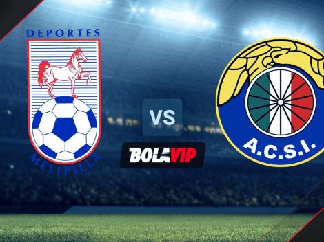 Qué canal transmite Melipilla vs. Audax Italiano por el Campeonato AFP Plan Vital de Chile 2021