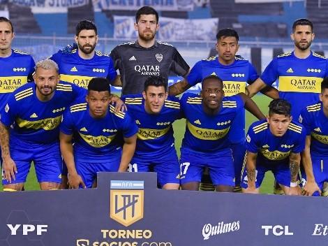Pura experiencia: los 11 de Boca para jugar ante Patronato