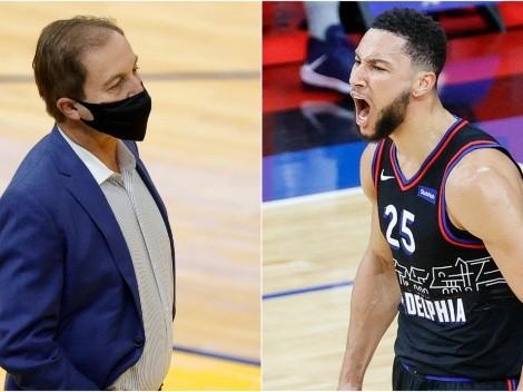 NBA multó por $50 mil al dueño de los Warriors por comentario sobre Ben Simmons