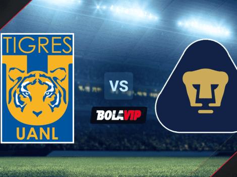 Cómo ver Tigres UANL vs. Pumas por la Liga MX   Horario y canal de TV   VER HOY   Alineaciones titulares