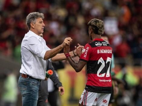 Renato Gaúcho comemora vitória e destaca vantagem para jogo decisivo