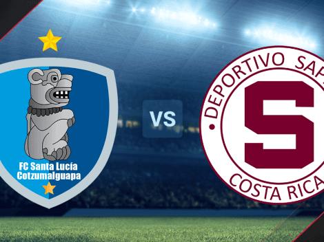 Santa Lucía Cotzumalguapa vs. Saprissa EN VIVO por la Liga Concacaf 2021 | Ida de octavos de final | Hora y canal de TV