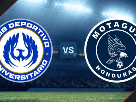 Universitario vs. Motagua EN VIVO por la Liga Concacaf 2021 | Ida de los octavos de final | Hora y canal de TV