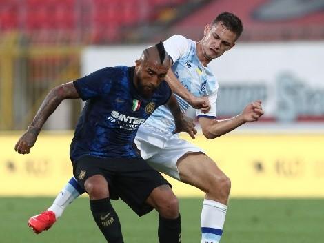 Reportan que Arturo Vidal seguirá estando ausente en Inter de Milán